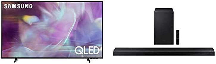 SAMSUNG 85-inch Class Q60A Series – QLED 4K UHD Smart TV with Alexa Built-in (QN85Q60AAFXZA, 2021 Model) and HW-Q700A   3.1.2ch   Soundbar   w/Dolby Atmos/DTS:X   2021