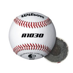 Wilson Youth League and Tournament Baseballs, A1030, SST, USSSA, Tournament (One Dozen)