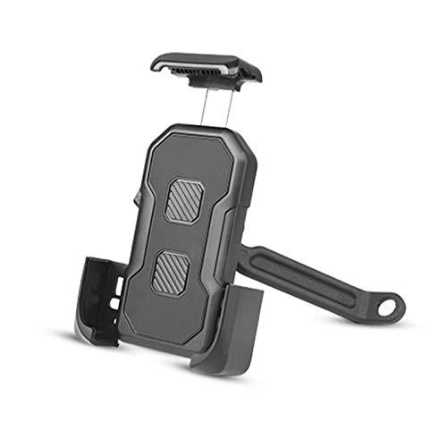 Soporte para Teléfono De Bicicleta, Soporte para Teléfono De Bicicleta Ajustable Giratorio De 360 ° Soporte De Teléfono Impermeable para Bicicleta Adecuado para Teléfonos Móviles De 4,7 A 7 Pulgadas