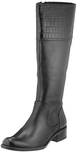 Caprice Damen 9-9-25535-25 019 Kniehohe Stiefel, Black Comb, 36 EU