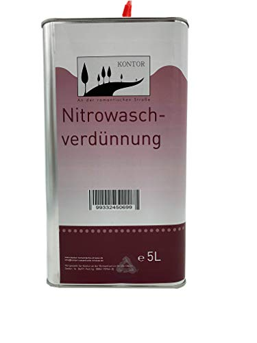 Nitrowaschverdünnung Nitro Verdünnung 5l
