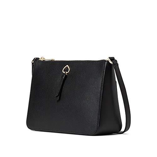 Kate Spade New York Adel Medium Top Zip Crossbody Bag, Black