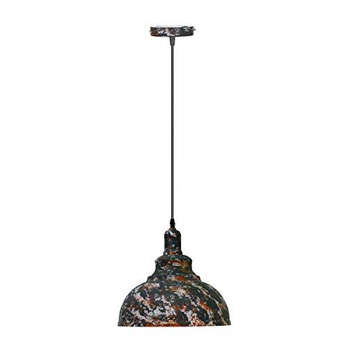 Lámpara de techo de metal estilo vintage industrial retro Loft
