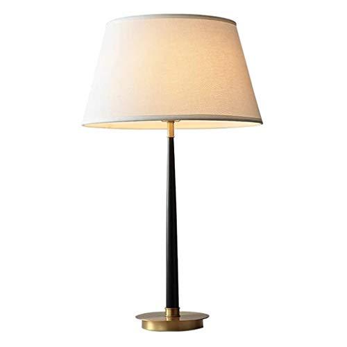 NXYJD Lámpara de pie, Simple decoración Moderna lámpara de la Sala de Estar Dormitorio de la lámpara, Cobre, Forja
