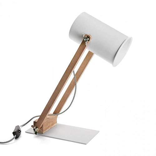Tafellamp KLES in Scandinavische stijl, wit