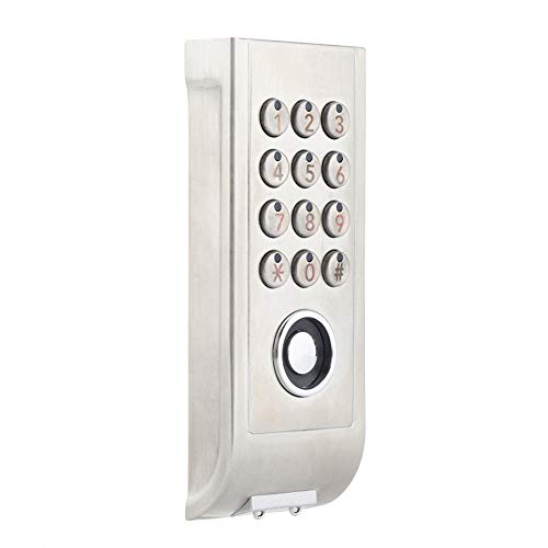 Cerradura de combinación de código digital para armario de acero inoxidable con cerradura de contraseña sin llave, cerradura electrónica de código digital para la seguridad del hogar