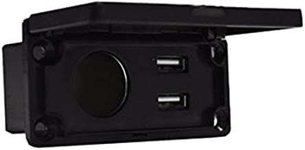 Madjax Universal 12V Charging Center with Outlet and USB Port for Most Golf Cart Models