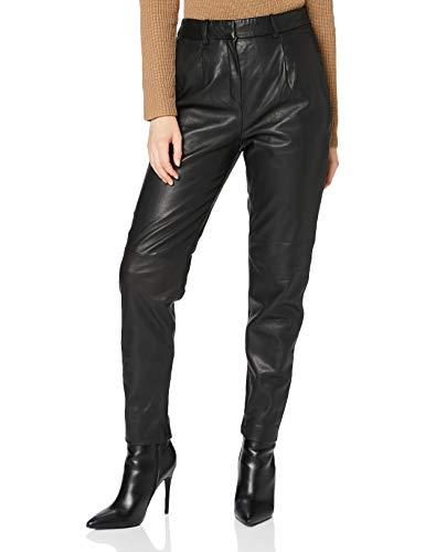 ESPRIT Collection Damen 090EO1B304 Hose, 001/BLACK, 38