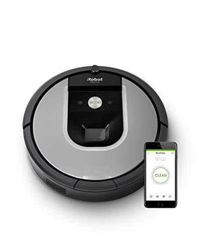 Robot Aspirador iRobot Roomba 971 WiFi, succion x5, 2 cepillos, Limpieza por Habitaciones, Recarga y reanuda, Ideal Mascotas, Imprint Link, Dirt Detect, Limpieza en 3 Fases, programación por App