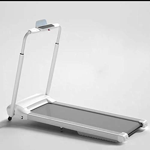 TOE Treadmills, Silent, Foldable, No Installation, Designed for Small Apartments (Color : Silver)