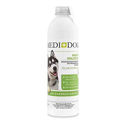 Probio Vitaltrunk für Hunde + Katzen, Darmsanierung, Darmaufbau, Probiotische Kulturen als Trunk, Darm Wohl, Fermentierte Kräuter, Darmflora Hund aufbauen Immunsystem