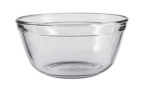 Anchor Hocking Glass Mixing Bowl, 1.5-Quart, Clear