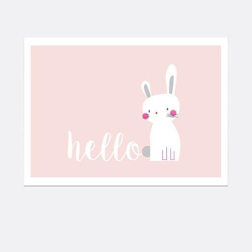 Poster A4 - Hello