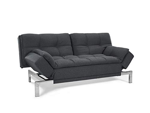 Serta Boca Sofa, Charcoal Grey