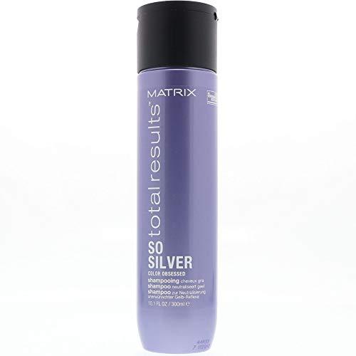 Matrix Total Results Color Care So Silver Shampoo 10.1 oz / 300 ml (2 Bottles) by Matrix Total Results Color Care So Silver Shampoo 10.1 oz / 300 ml (2 Bottles