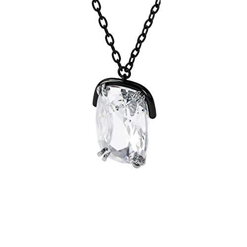 Swarovski Colgante Harmonia, Cristales de gran tamaño, Blanco, Combinación de acabados metálicos