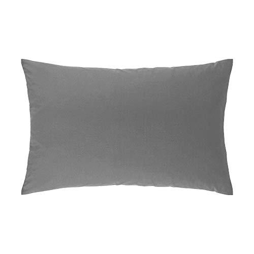 Atmosphère Taie d'oreiller 50x75 cm ATMO UNI gris