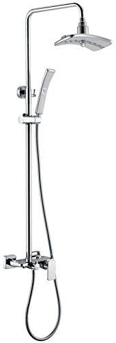 ZKAIAI Bath Fixtures Water 35% OFF Sale Saving Desk Paten Storage Shower Set
