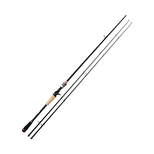 JINGGL Cañas de Pescar 2.1m 2.4m Giro de caña de Pescar 2 Consejos ML/M Poder 3 Sec Varilla de Carbono Spinning Casting Rod Aparejos de Pesca (Color : Casting Rod A, Length : 2.4m)