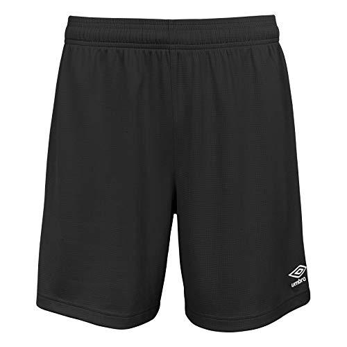 Umbro unisex adult Field Shorts, Black, Medium US