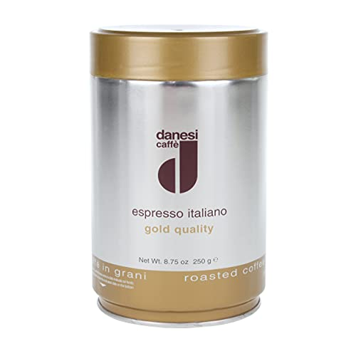 Danesi Kaffee Espresso Miscela Oro 250g Bohnen Dose