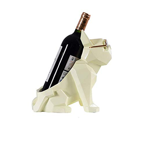 YWYW Estante para vinos Sala de Estar Moderna y Minimalista Estante para vinos Botella de Vino Creativa Botella Almacenamiento de Vino Tienda Bar Bar Acabado Estante para vinos Estante para vinos