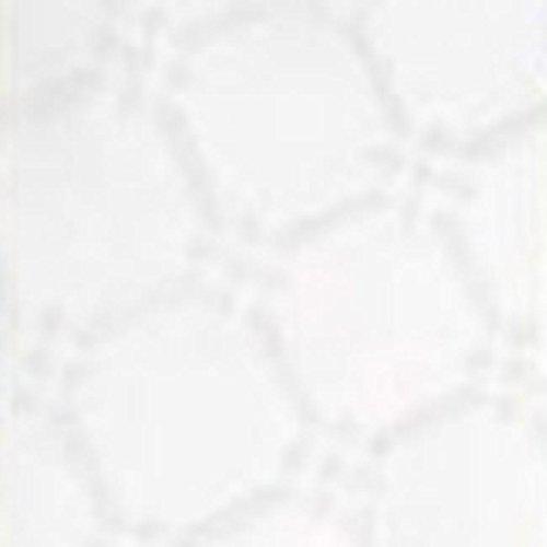 Tafelloper voor Damascat wit CARTA MONOUSO 100X100