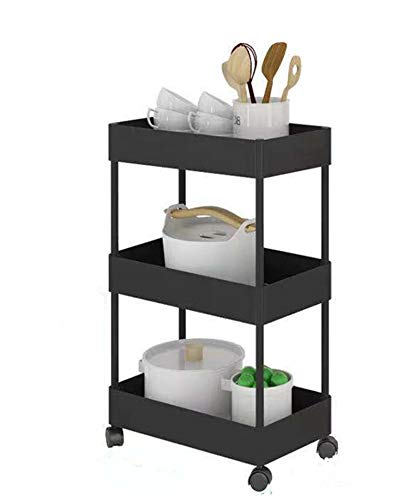 Finnhomy Heavy Duty 5 Tier Wire Shelving Unit 18x18x59-inches 5 Shelves Storage Rack Thicken Steel Tube, NSF Certified, Chrome