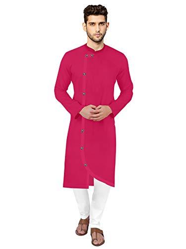 7eleven® Mens Cross Button Fancy Kurta Pajama Set for Men