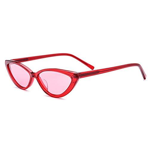 WHSS Sunglasses UV400 Marco Pequeño Gafas De Sol Polarizadas Moda Triángulo Gafas Mujer Retro Placa Masculina Narrow Cat Eye Sunglasses