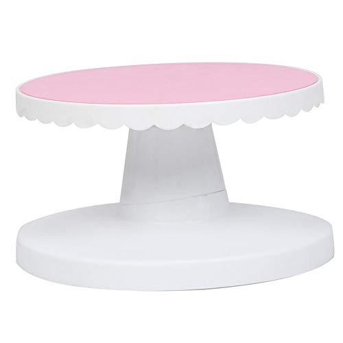 Base giratoria para tartas, antideslizante, para decoración de tartas, mesa giratoria de horno, suministros, 23 cm., 1