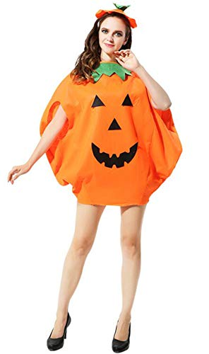 Adult Pumpkin Costume Funny Halloween Costume Unisex Cosplay Party Clothes