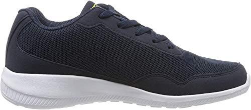 Kappa FOLLOW   Freizeit-Sneakers für Frauen und Männer   super-leicht, modisch und zeitlos   angenehmes Tragegefühl   atmungsaktiv, Farbe 6733 navy/lime, Größe 42