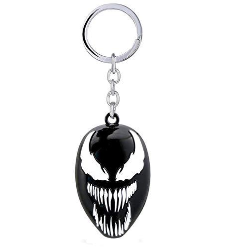 Venom The Movie 2018 Llavero de Metal Logo Mascara Cara - 6...