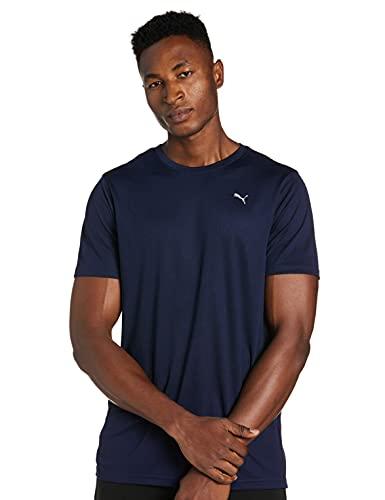 PUMA Performance SS tee M Camiseta, Hombre, Peacoat, XL