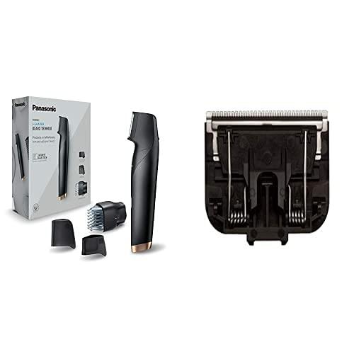 Panasonic ER-GD61-K503 Recortadora de Barba Recagable para Hombre, Negro Wer9500 Recambio Rasadura Corporal