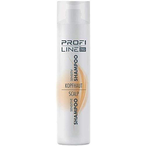 Profiline cuir chevelu shampooing Sensitiv 300 ml apaise & Régénère la tête de la peau