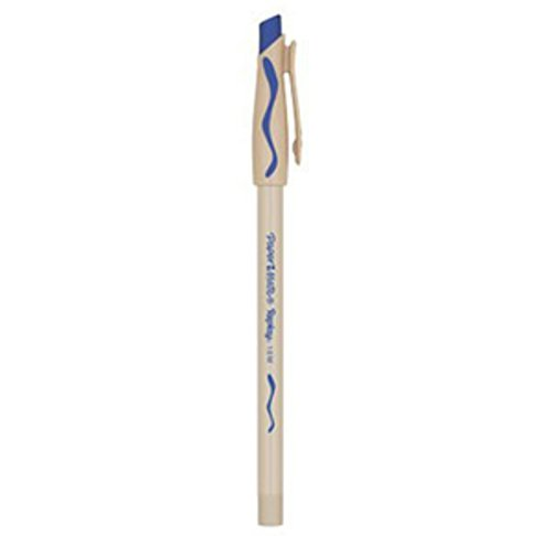 PaperMate Replay blau–Kugelschreiber (blau, beige, blau, 0,4mm)