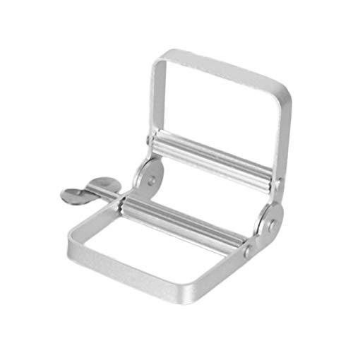 Logicstring Exprimidor Manual De Aluminio Portátil para Pasta De Dientes, Accesorios De Baño, Herramienta Dispensadora Rodante De Tubo