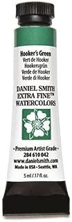 DANIEL SMITH 284610042 Extra Fine Watercolors Tube, 5ml, Hooker's Green