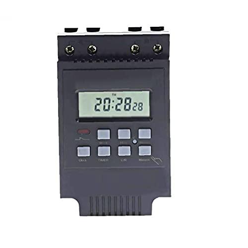 Interruptor Temporizador Programable Electrónica Digital Del Relé Pantalla Lcd Tm616b-2 Inteligente Para El Control Del Temporizador De Apagado Interruptor Finebrand