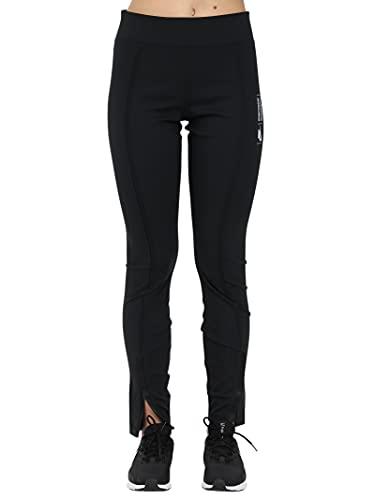 NIKE W NSW LEGASEE LGGNG Zip UU Leggings, Black/(White), L Womens