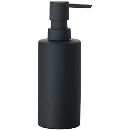 Zone Denmark - Distributeur de Savon – Distributeur de Savon Liquide – Solo – Porcelaine – Noir