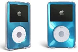 MIP For Apple iPod Classic Hard Case with Aluminum Plating 80gb 120gb 160gb-Light Blue