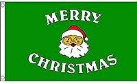 国旗 メリークリスマス サンタクロース 特大フラッグ