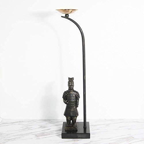 Chinese Klassieke Terracotta Krijger Kandelaar Decoratie Studie Kantoor Thuis Woonkamer Karakter Decoratie 15 15 65.5 Cm (Kleur: Hoge Sectie)