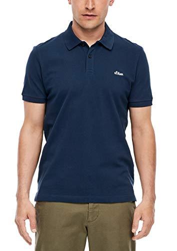 s.Oliver RED Label Herren Poloshirt aus Piqué Navy XL