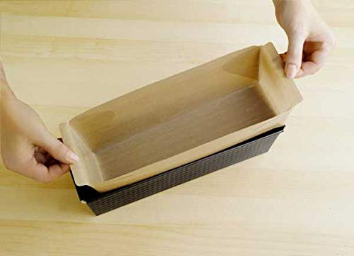 WENKO Antihaft-Backform-Zuschnitt eckig - wiederverwendbar, spülmaschinengeeignet, Thermoplast, 44 x 22.5 cm, Braun