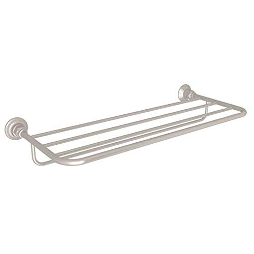 "ROHL ROT10STN BATH ACCESSORIES, 24"", Satin Nickel"