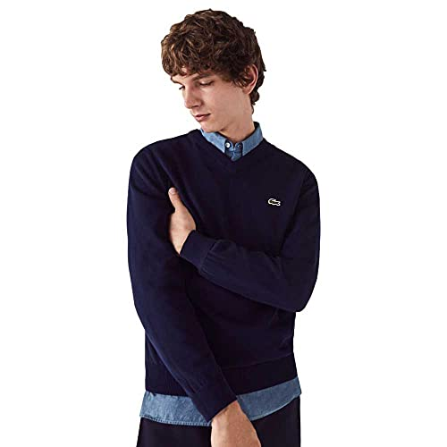 Lacoste AH1951 Sweater, Marine, L Uomo